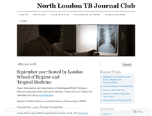 Tablet Preview of northlondontb.org
